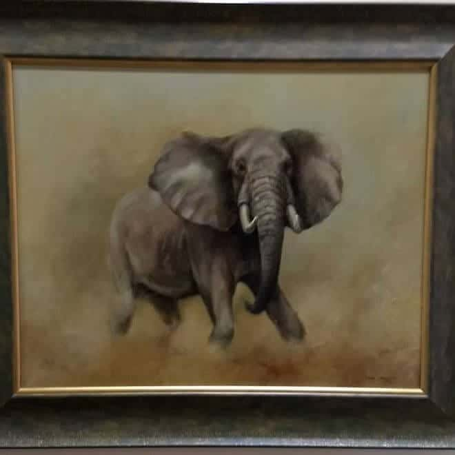 Mark Smallman 'Bull Elephant'